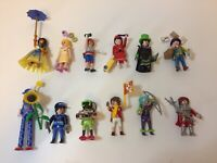 Playmobil Series 18 Mystery Figure Pink Girls COMPLETE COLLECTION