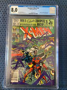 Uncanny X-Men #154 CGC 8.0 Cyclops Origin