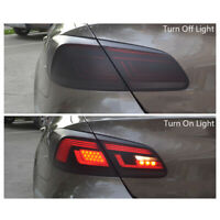 Matte Black Headlight Rear Light Lamp Tint Sticker Film Vinyl Decal Film Wrap