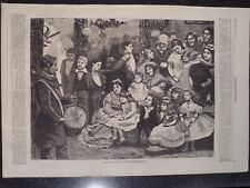 Victorian Era Punch In The Drawing Room Christmas Harper's Weekly 1872