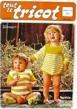 Revue de mode Catalogue de tricot - Tout le Tricot n°142- 1978 - Layette enfant