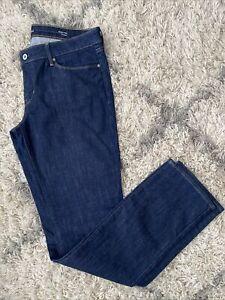 Levi's Womens Demi Curve Modern Rise Denim Jeans - 32 x 34 - Straight Leg - VGUC