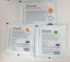 Hartmann Zetuvit plus Silicone Border 12,5x12,5+17,5x17,5cm Superabsorber NEU