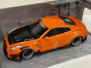 1/18 Solido Nissan GT-R ( R35 ) Liberty walk LB Performance Type-2 Orange