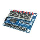 8-Tasten Ziffern Digital LED 8 Bit TM1638 Display Module für AVR Arduino