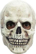 Adults Spooky Skull Skeleton Overhead Mask Halloween Fancy Dress Accessory