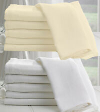 100% Cotton Soft Muslin - Sheer Voile Curtain Cloth Craft Fabric Material 138cms