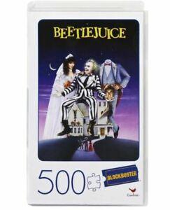 500-Piece Blockbuster Jigsaw Puzzle, Beetlejuice
