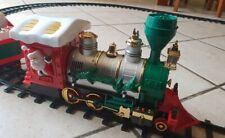 Großer Weihnachtszug Musik Licht Eisenbahn X-Mas Santa AM-75220