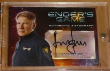 Ender's Game Autograph Auto Card Harrison Ford Carte Rare (Star Wars Han Solo)