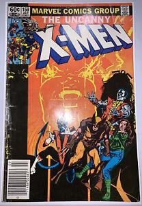 Uncanny X-Men #159, VG/G+, Sienkiewicz, Marvel Comics 1982