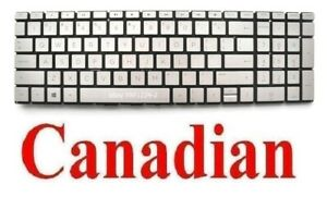 Keyboard for HP 15-DW 15-DW2008CA 15-DW2012CA -  CA Canadian