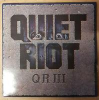 Quiet Riot-QR III-LP-Vinyl-Schallplatte-Sammlung-Rock Pasha-PSH 460701-1 UK 1986