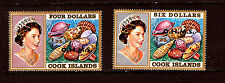 COQUILLAGES  Cook  Island  1979  seashells  2 T neufs 030-031   36m118t4