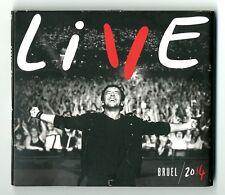 COFFRET 2 CD + 2 DVD ★ BRUEL LIVE 2014 ★ 4 DISC ALBUM  2014