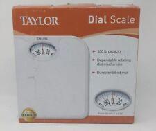 Taylor Analog Dial Bath Scale Model 2020W 300Lb Capacity New