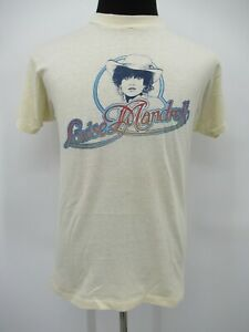 P8384 VTG 90's Hanes Louise Mandrell Country 50/50 T-Shirt Made in USA Size L