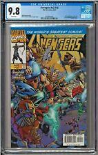 Avengers #v2 #10 #412 CGC 9.8 White Pages Loki Enchantress Reed Richards app