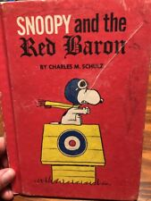 snoopy and the red baron book Harccover Charles Schulz