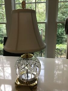 Retired Waterford table lamp
