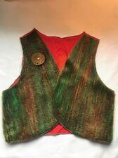 Vintage Cowboy & Indian Dress Up~Play Vest ~Mid-Century