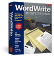 Avanquest WordWrite Professional Word Processing Software