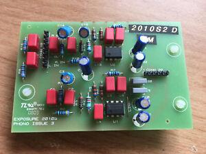 Exposure Amplifier amp 2010S2 D Moving Magnet Phono Board, Gene Rubin Audio