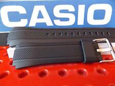 Casio Watch Band EF-552 Black Rubber Edifice Watchband / Strap