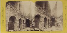 Arènes de Vérone Verona Italie Italia Photo Stereo Vintage Albumine ca 1865