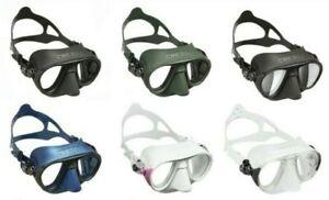 USA Shipping Cressi Calibro Pro Dive Mask Fog Stop freediving spearfishing Scuba