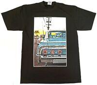 LOWRIDER T-shirt Urban Streetwear Adult Men's Tee 100% Cotton New