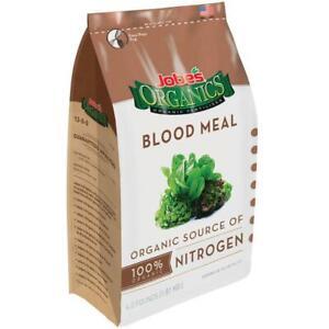 Blood Meal 100% Organic OMRI Listed Jobe's Organics Soil Additive Plant Food