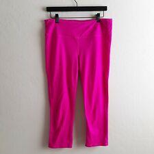 Athleta Womens LT Large Tall Light Hot  Pink  7/8 Tight Leggings Crop