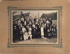 Grande photo de mariage Mirebeau Sur Beze Lambert photographie populaire 1920