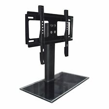 """Table Replacement TV Pedestal Stand Base fit 37""""-55"""" For LED LCD Plasma New  SA"""