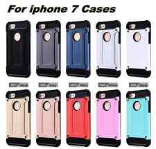 iPhone 7 plus cases Shockproof Steel armour protective covers For TPU