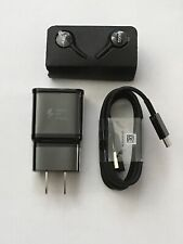 New Samsung S10 accessories Fast Charger, Type C Cable ,Akg Headphones (Black)