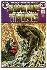 Swamp Thing #1 1972 - DC  -VG - Comic Book