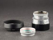 Leica M 5cm 2.0 Summitar 50mm versenkbar silber FOTO-GÖRLITZ Ankauf+Verkauf