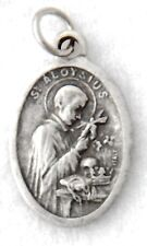 ST ALOYSIUS GONZAGA Catholic Saint Medal patron teenagers bodily purity AIDS eye