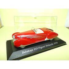 Delahaye Type 165 cabriolet 1939 rouge  1//43 MINICHAMPS 437116130