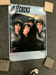 Buzzcocks Another Music In A different Kitchen Punk poster Excellent Condition