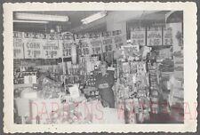 Vintage Photo Pretty Girl in Roadside Grocery Store Denver 741742