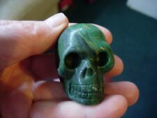 Crystal skull small verdite Hq 16