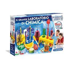 Giochi educativi per bambini Il grande Laboratorio di Chimica Clementoni 8+