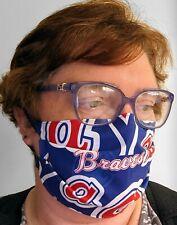 Atlanta Braves Face Mask - All Sizes - Handmade