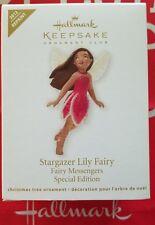 HALLMARK 2012 STARGAZER LILY FAIRY FAIRY MESSENGERS REPAINT SPECIAL EDITION NIB