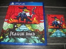 NEW Plague Road KICKSTARTER Exclusive Variant Edition Limited Run Games LRG PS4
