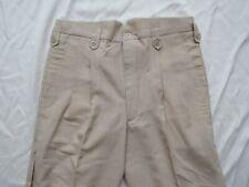 Vtg 50s Super Fancy Drop Loop Hollywood Pants 32x28 Pleated Vlv Elvis Mod