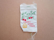 Cherry Green Trees Girl Guides Woven Cloth Patch Badge